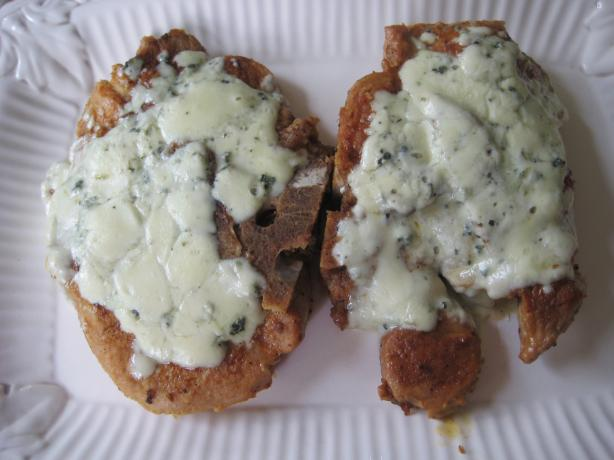 Nana's Melt in Your Mouth Blue Cheese Pork Chops