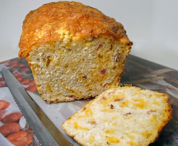 Bacon Cheddar Beer Bread