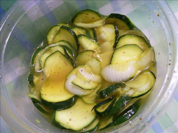 Freezer Bread & Butter Zucchini Chips