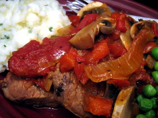 Swiss Steak (From so Fat Low Fat No Fat Cookbook)