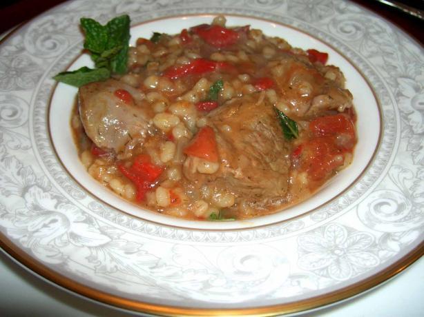 Crock Pot Lamb Stew With Barley