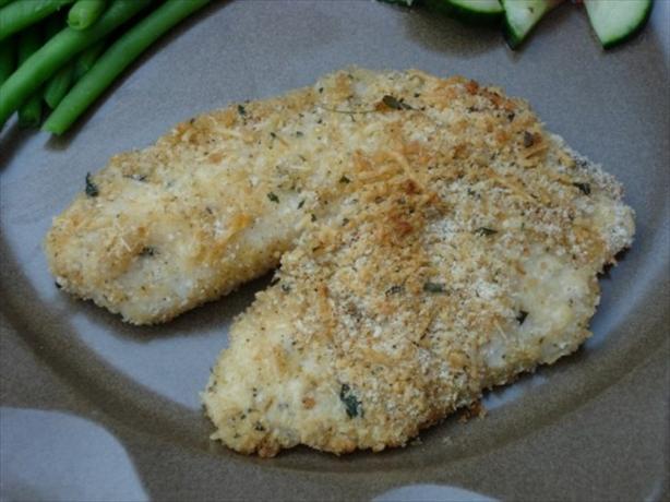 Baked Herb-Parmesan Tilapia