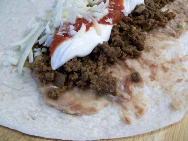 Burrito Grande, Oven Baked