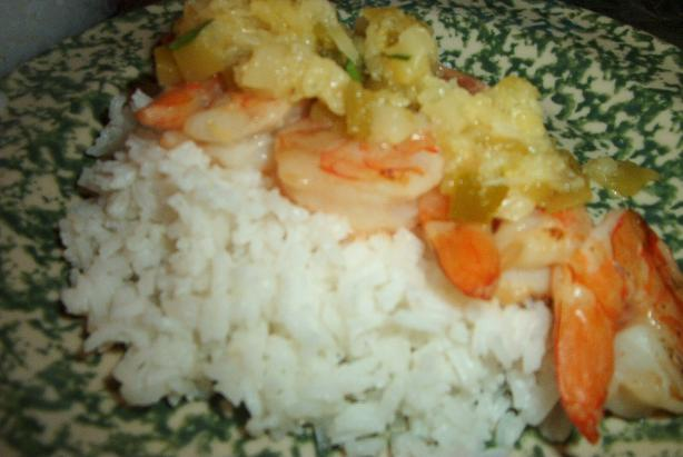 Grilled Coconut Shrimp with Pineapple Salsa