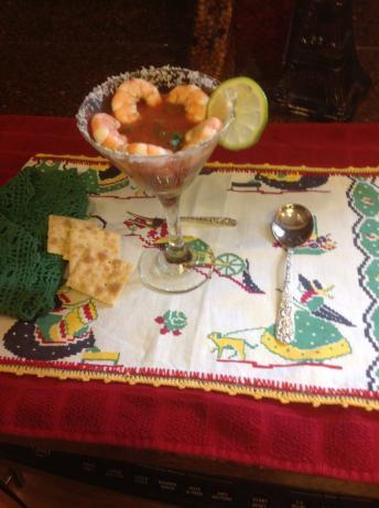 Fiesta Shrimp Cocktail #RSC