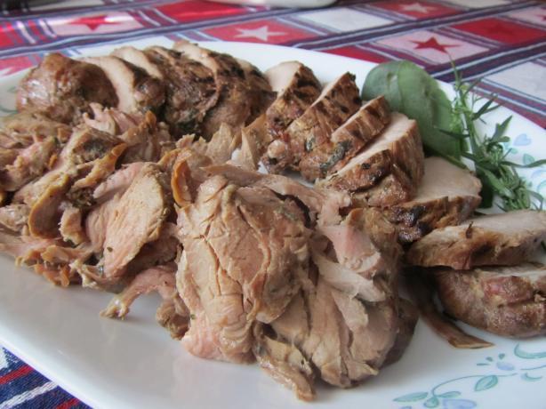 Marinated BBQ Pork Tenderloin