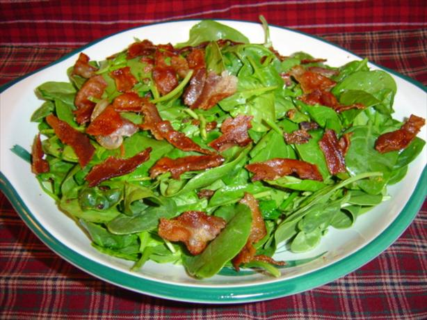 Hot Bacon Dressing (For Spinach Salad)