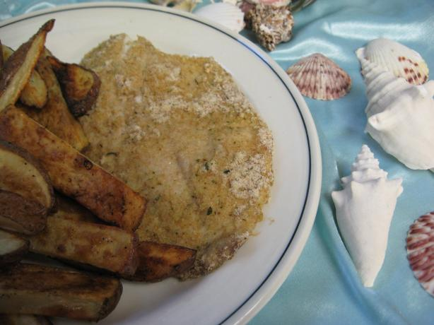 Canyon Ranch's Baked Fish & Chips