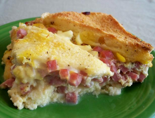 Deviled Ham & Egg Casserole