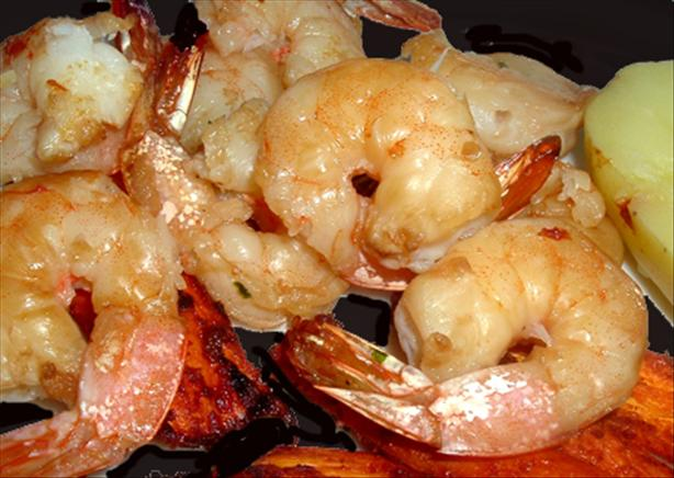 Grilled Ginger Shrimp