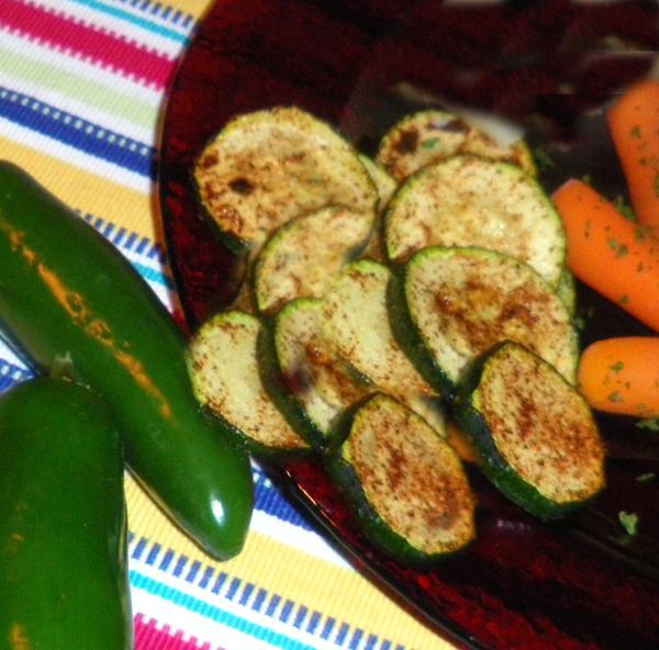Pili-Pili Zucchini--Oww Hot!