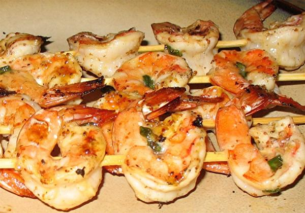 Honey -Lime Marinade for Shrimp