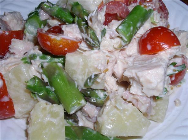 Asparagus & Chicken Salad (Schwetzinger Spargelsalat)