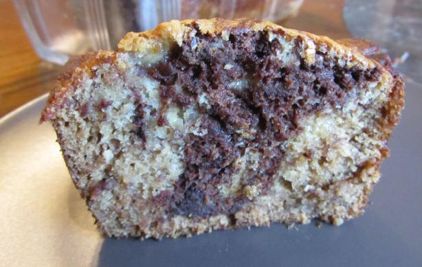Marbled Chocolate Banana Bread (Vegan)
