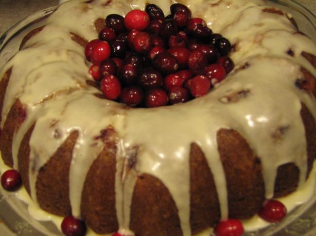 Cranberry-Orange Bundt Cake