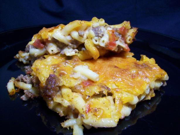 Spicy Macaroni and Cheese Casserole
