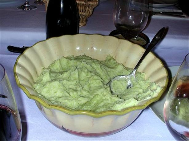 Puree Verte - Potato, Fennel, and Fava Mash