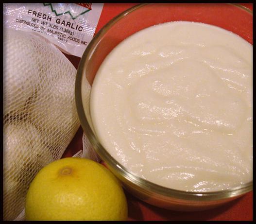 Zankou Chicken's Lebanese Garlic Sauce (Copycat)