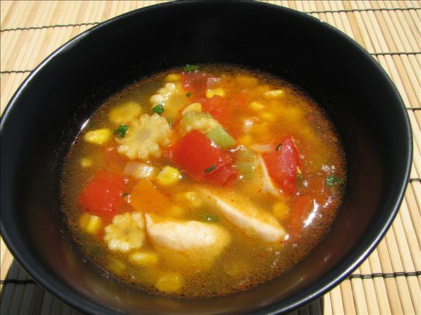 Chicken and Baby Corn Soup