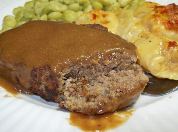 Salisbury Steak for 2