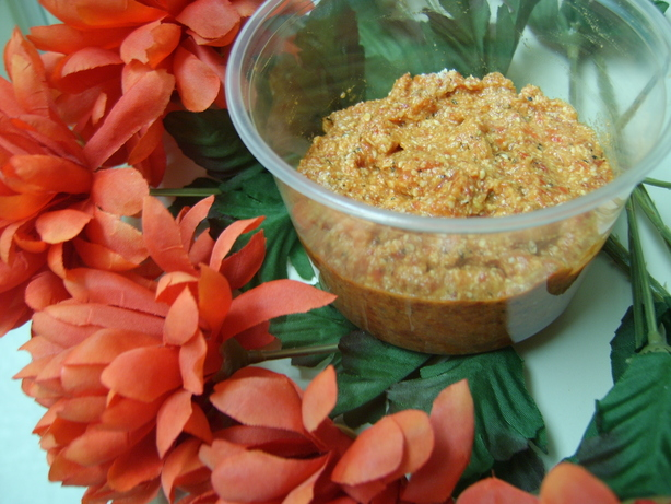 Roasted Garlic and Red Pepper Pesto