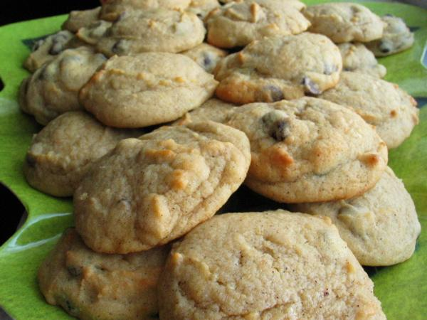 Julia's Pumpkin Chocolate Chip Cookies