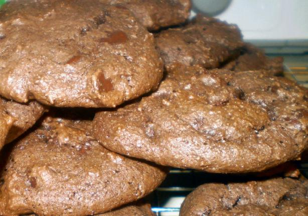 Cheater's Chocolate Chocolate Chip Cookies