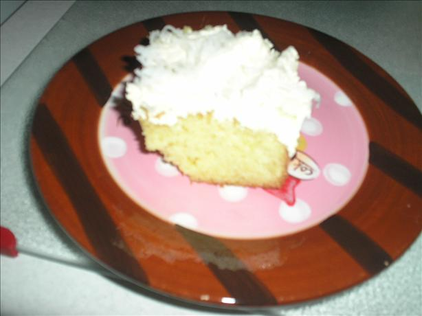 Easy Melt in Your Mouth Coconut Cake