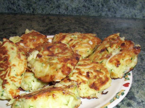 Zucchini & Cheese Patties