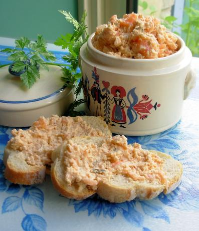Smoked and Fresh Salmon Rillettes