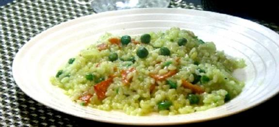 Rob Feenie's Green Pea Risotto