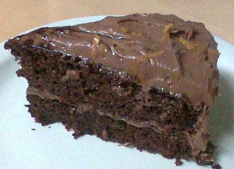 Chocolate-Orange Cake W/Chocolate-Orange Cream Cheese Frosting