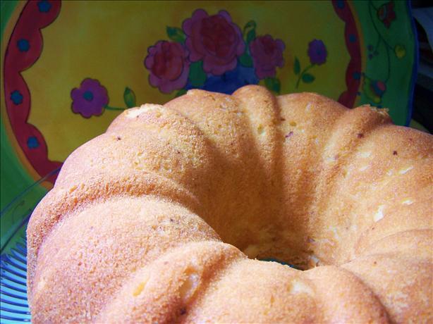 Orange Cream Cheese Pound Cake