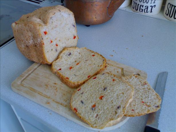 Red Pepper & Red Onion Bread (Abm / Machine)