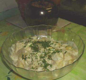 Mom's Potato & Egg Salad