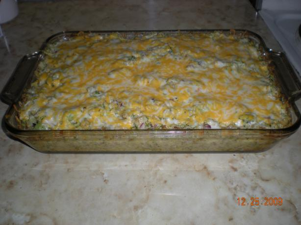Easiest Broccoli Rice Casserole
