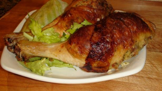 Chicken Legs with Ricotta and Bacon Stuffing