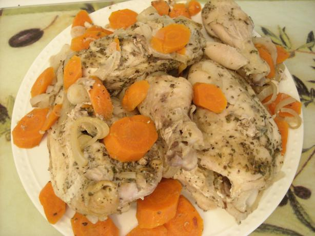 Italian Dressing Whole Chicken Crock Pot Recipe