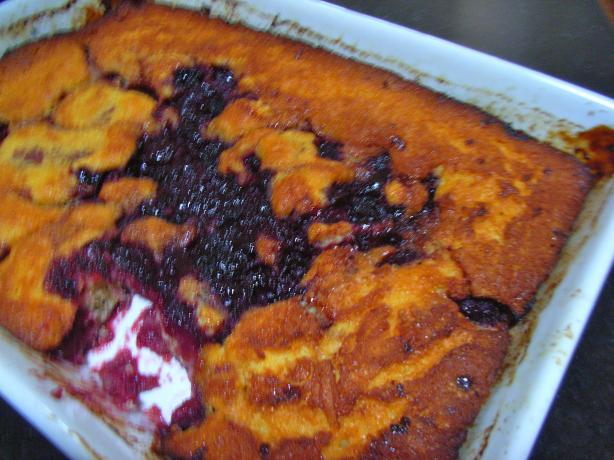 Old Fashioned Baked Sour Cherry Pudding