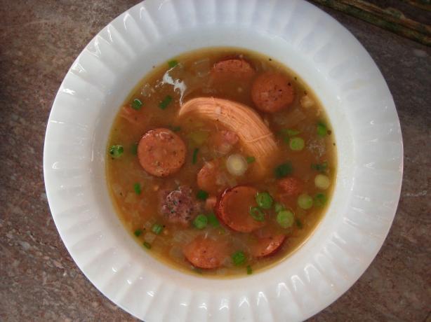 Avoyelles Parish Chicken and Sausage Gumbo
