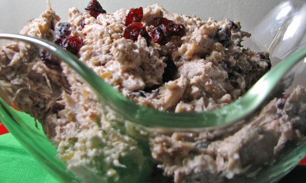 Tarragon-Thyme Chicken Salad W/C. Ginger, Pecans, & Craisins