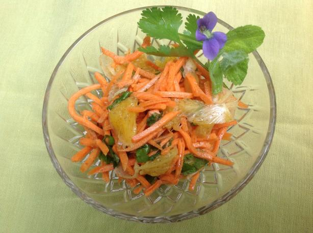 Spiced Carrot and Orange Salad