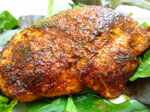 Simple Blackened Chicken