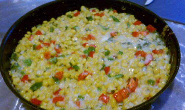 Corn & Capsicum Casserole