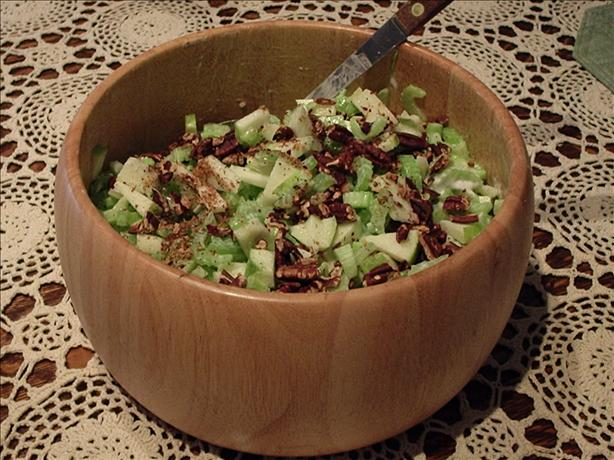 Celery, Apple & Pecan Salad