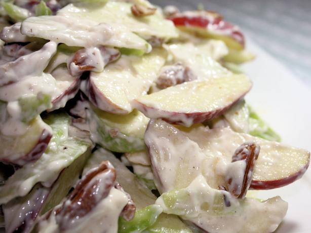 Creamy Apple Pecan Salad