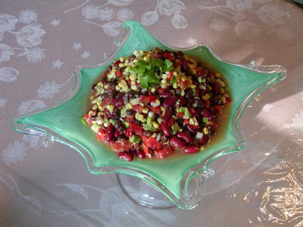 Black Bean & Corn Salad with Avocado