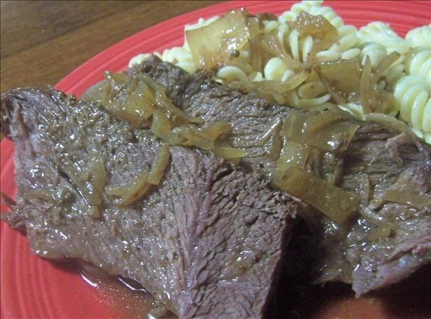 Easy 4 Ingredient Crock Pot Roast