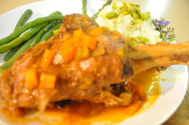 Yummy Mummy Braised Lamb Shanks
