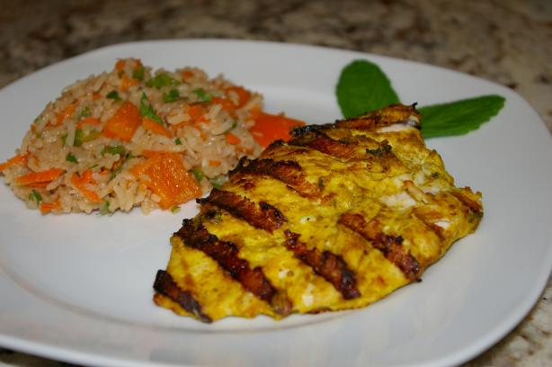 Yogurt-Spiced Chicken With Rice Weight Watchers